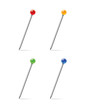 multicolor dot pushpin