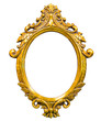 golden wood photo image frame
