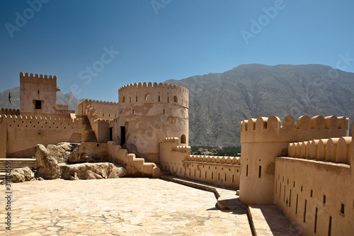 canvas print picture The Nakhl Fort in Al Batinah, Oman