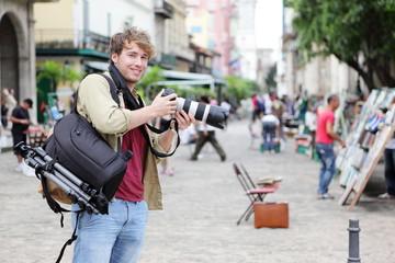 Travel photographer, Havana, Cuba
