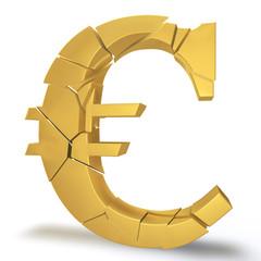Евро разваливается