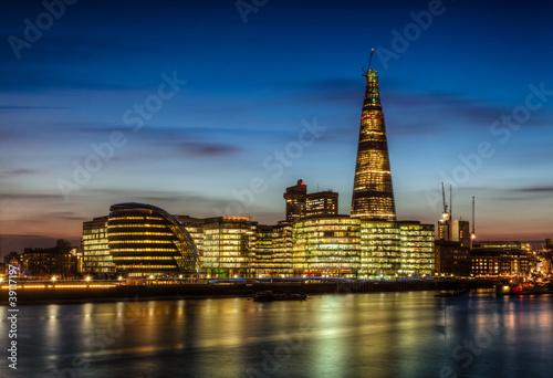 Londres immeubles Canvas Print