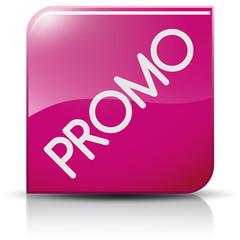 Symbole glossy vectoriel promo soldes