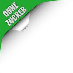 Seitenecke grün links OHNE ZUCKER