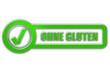 CB-Schild grün glas OHNE GLUTEN