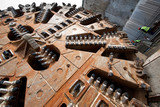 huge tunnel boring machine head