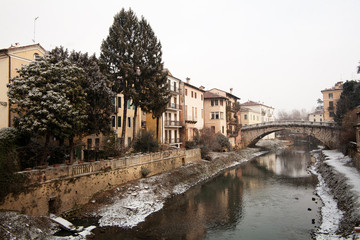 Sana Michele's bridge in Vicenza