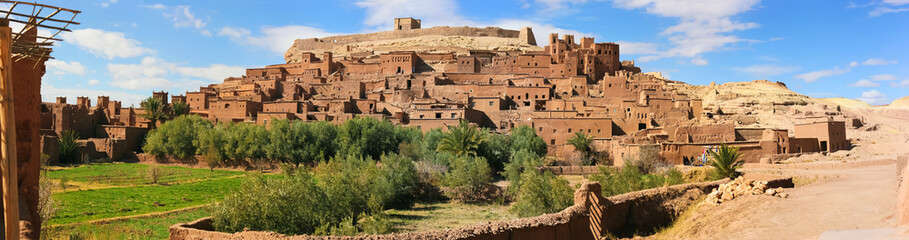 beautiful Kasbah Ait ben Haddou in Morocco