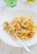 Fettucine mit Gemüse