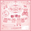Baby Girl Arrival Set