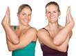 Ladies in Twisted Namaskar