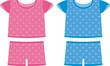 Children set pajamas. For boys and girls - 39126906