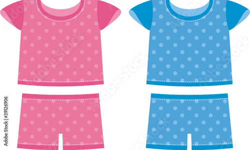 Children set pajamas. For boys and girls - 39126906