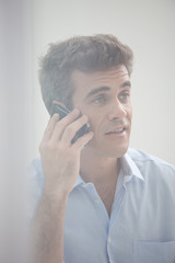 Businesman on a phone