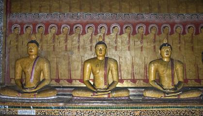 Dambulla, sacre grotte
