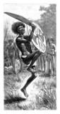 Trad. Black Man Dancing