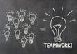 Zusammen im Team mehr erreichen - Konzept