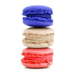 Macarons tricolore
