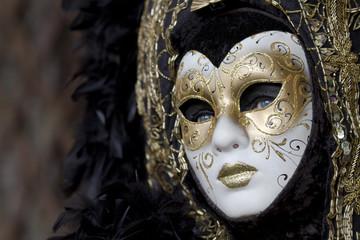 Maschera Carnevale Venezia viso
