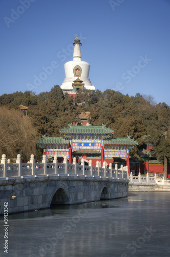Beihai Park Landmark in Beijing / Peking - China
