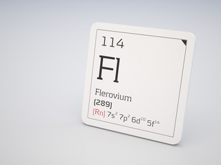 Flerovium - element of the periodic table