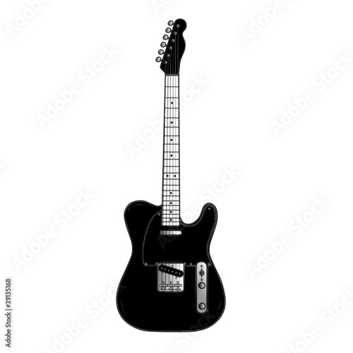 black country rock guitar