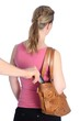 Diebstahl Kredit EC Karte aus Handtasche