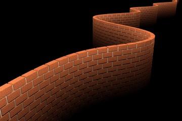 3D Wall (dark)