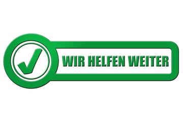 CB-Schild grün rel WIR HELFEN WEITER