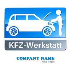KFZ-Werkstatt und Mechaniker - Firmenlogo