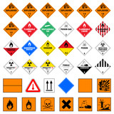 icon set dangerous good IV