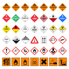 icon set dangerous good V
