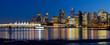 Vancouver BC City Skyline Reflection