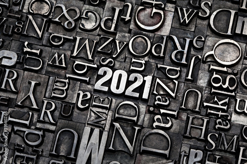 Leinwandbild Motiv 2021