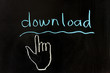 Download and hand pointer