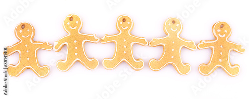 five gingerbread man