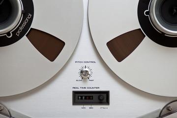 Analog Stereo Open Reel Tape Deck Recorder
