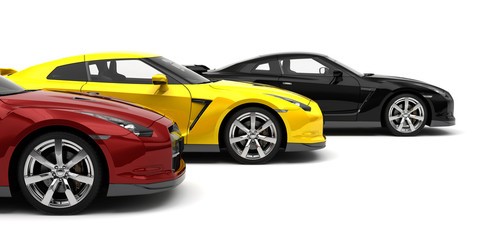 Sport Cars - Side View