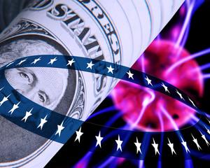 US Dollar concept