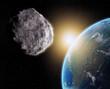 Fototapeten,meteor,planetoid,umlaufbahn,planet