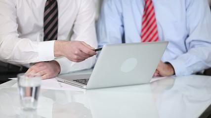 meeting mit laptop