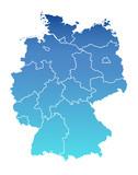 Deutschland Karte Bundesländer - 1