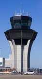 Airport control tower not yet opened Murcia, Murcia, Spain poster
