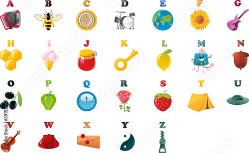 abc book alphabet with pictures
