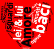 Amore - tag cloud