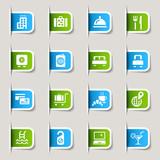 Fototapety Label - Hotel icons