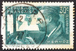 Postage stamp France 1937 Jean Mermoz, Aviator