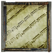 sheet music print