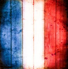bandiera francese vintage