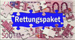 Rettungpaket - Puzzle - Geldschein